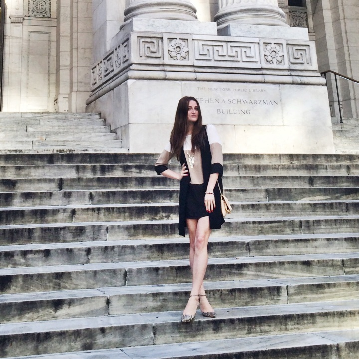 New York Public Library: Steps & Style