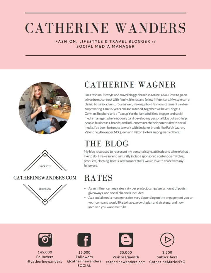 Catherine Wanders Media Kit